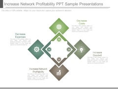 Increase Network Profitability Ppt Sample Presentations