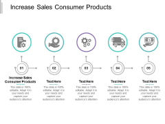 Increase Sales Consumer Products Ppt PowerPoint Presentation Inspiration Themes Cpb