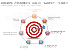 Increasing Organizational Security Powerpoint Themes