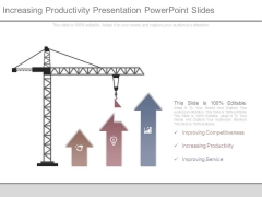 Increasing Productivity Presentation Powerpoint Slides
