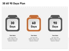 Incremental Approach 30 60 90 Days Plan Ppt Infographics Diagrams PDF