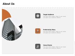Incremental Approach About Us Ppt Outline Master Slide PDF