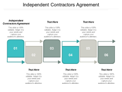 Independent Contractors Agreement Ppt PowerPoint Presentation Styles Slides Cpb