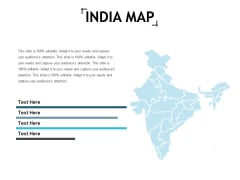 India Map Geography Ppt Powerpoint Presentation Show Slide Download