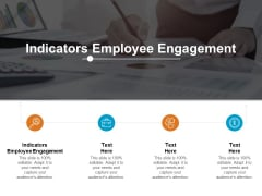 Indicators Employee Engagement Ppt PowerPoint Presentation Layouts Gridlines Cpb