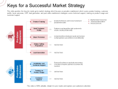 Indirect Channel Marketing Initiatives Keys For A Successful Market Strategy Download PDF