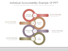 Individual Accountability Example Of Ppt
