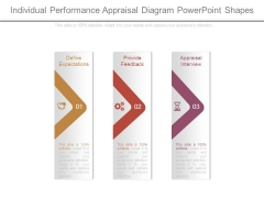 Individual Performance Appraisal Diagram Powerpoint Shapes