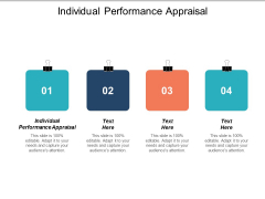 Individual Performance Appraisal Ppt PowerPoint Presentation Portfolio Infographic Template Cpb