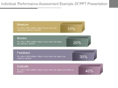 Individual Performance Assessment Example Of Ppt Presentation