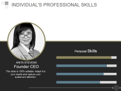 Individuals Professional Skills Ppt PowerPoint Presentation Backgrounds