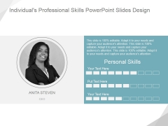 Individuals Professional Skills Ppt PowerPoint Presentation Show