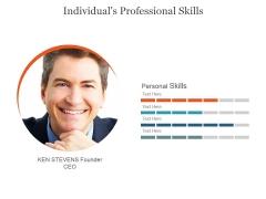 Individuals Professional Skills Ppt PowerPoint Presentation Slide Download