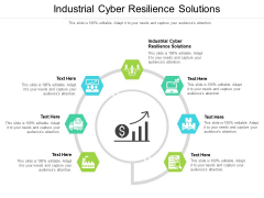 Industrial Cyber Resilience Solutions Ppt PowerPoint Presentation Model Skills Cpb Pdf
