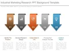 Industrial Marketing Research Ppt Background Template