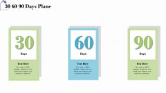 Industry Analysis Of Real Estate And Construction Sector 30 60 90 Days Plane Sample PDF