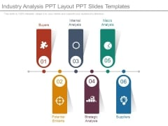 Industry Analysis Ppt Layout Ppt Slides Templates