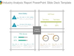 Industry Analysis Report Powerpoint Slide Deck Template