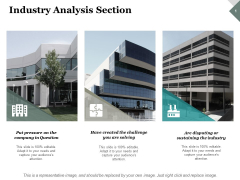 Industry Analysis Section Ppt PowerPoint Presentation Slides Model