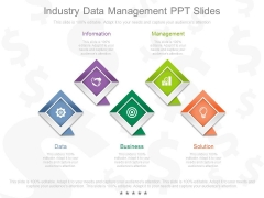 Industry Data Management Ppt Slides