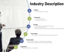 Industry Description Ppt PowerPoint Presentation Pictures Samples