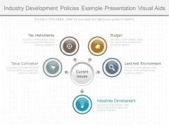 Industry Development Policies Example Presentation Visual Aids