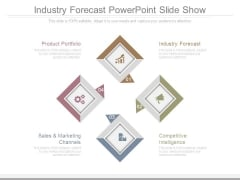 Industry Forecast Powerpoint Slide Show