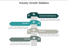 Industry Growth Statistics Ppt PowerPoint Presentation Layouts Examples Cpb
