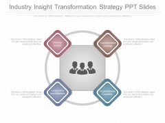 Industry Insight Transformation Strategy Ppt Slides