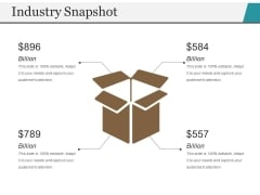 Industry Snapshot Template 2 Ppt PowerPoint Presentation File Display
