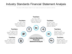 Industry Standards Financial Statement Analysis Ppt PowerPoint Presentation Styles Ideas Cpb