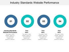 Industry Standards Website Performance Ppt PowerPoint Presentation Professional Graphics Cpb Pdf
