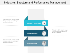 Industrys Structure And Performance Management Ppt Powerpoint Presentation Model Outline