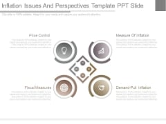 Inflation Issues And Perspectives Template Ppt Slide