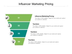 Influencer Marketing Pricing Ppt PowerPoint Presentation Show Background Cpb