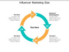 Influencer Marketing Size Ppt PowerPoint Presentation Portfolio Template Cpb