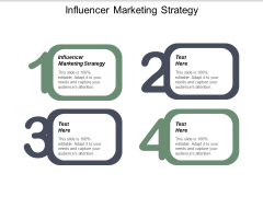 Influencer Marketing Strategy Ppt PowerPoint Presentation Gallery Skills Cpb