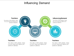 Influencing Demand Ppt PowerPoint Presentation File Slides Cpb