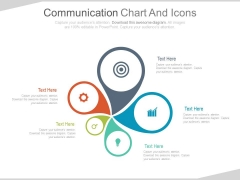 Infographic Chart For Marketing Information Powerpoint Slides