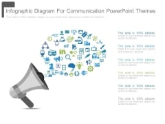 Infographic Diagram For Communication Powerpoint Themes