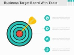 Infographic Diagram To Focus On Goals Powerpoint Slides