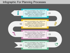 Infographic For Planning Processes Powerpoint Template