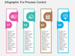 Infographic For Process Control Powerpoint Templates