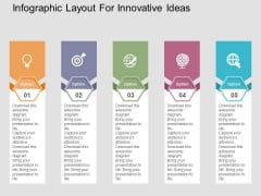 Infographic Layout For Innovative Ideas Powerpoint Templates