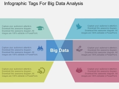 Infographic Tags For Big Data Analysis Powerpoint Template