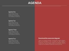Infographics Slide Of Business Agenda Powerpoint Slides