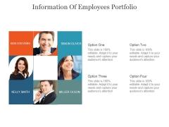 Information Employees Portfolio Ppt PowerPoint Presentation Portfolio