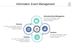 Information Event Management Ppt PowerPoint Presentation Summary Grid Cpb