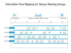 Information Flow Mapping For Various Working Groups Ppt PowerPoint Presentation Gallery Picture