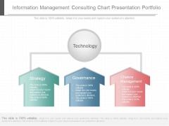 Information Management Consulting Chart Presentation Portfolio